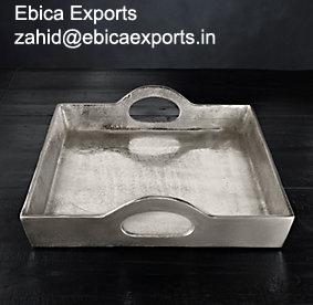 Aluminium Rectangular Tray Large
