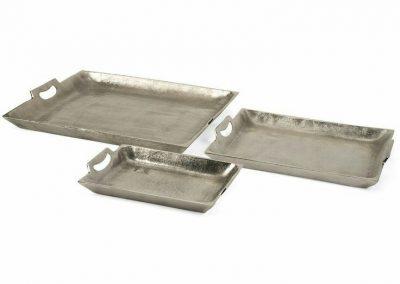 Nickel Plated Rectangular Tray (2)