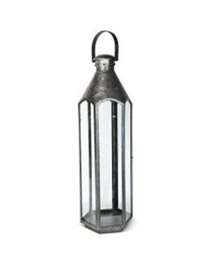 Small Galvanised Lantern
